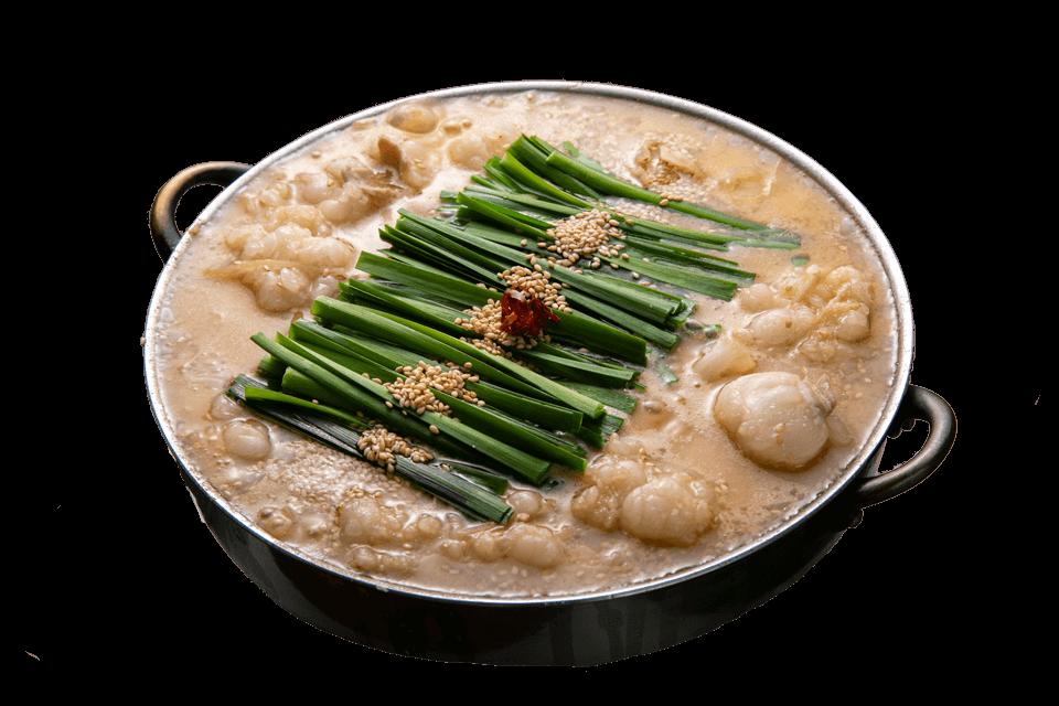 泉中央駅から徒歩5分。 こだわりの絶品もつ鍋をご賞味あれ。